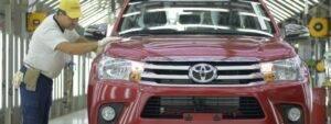 Toyota aumenta la producción por la alta demanda de pick-up en Argentina
